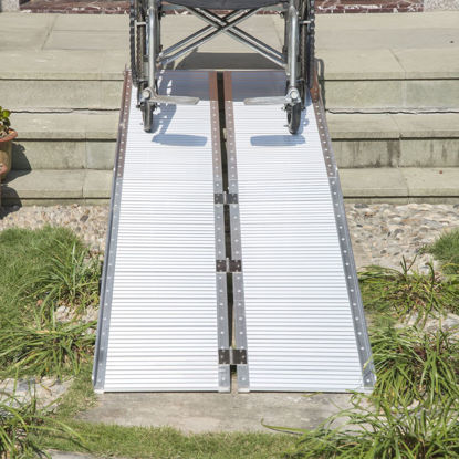 Picture of 10' Folding Wheelchair Threshold Ramp