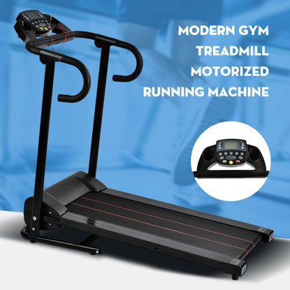 Picture of 1100W Folding Electric Portable Treadmill Black