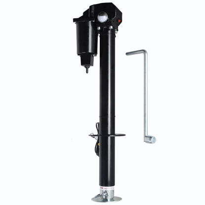 Picture of 12V Electric Truck Trailer Tongue Jack Trailer Camper Adjustable 3500lbs Lift