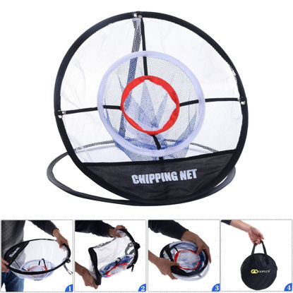 Picture of 20'' Portable Golf Training Chipping Net Bag