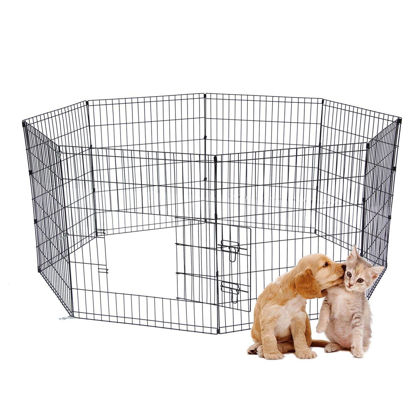 "Picture of 24"" Puppy Pet Dog Play Pen Kennel Cage"