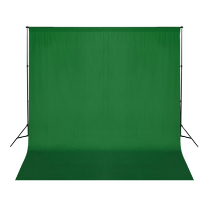 Picture of Backdrop 10 x 10 feet Chroma Key - Green
