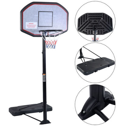 Picture of Basketball Hoop 43'' Adjustable Height 10FT