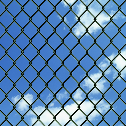 """Picture of Chain Fence 4' 9"""" x 82' Green"""