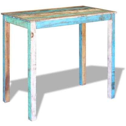 Picture of Dining Bar Table Solid - Reclaimed Wood
