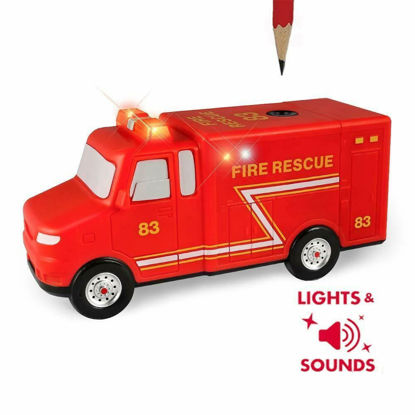 Picture of Fire Rescue Pencil Sharpener with Lights and Music