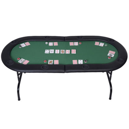 Picture of Foldable Casino Poker Table for 8 Players
