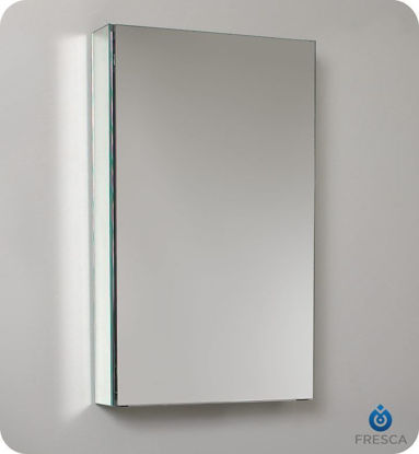 "Picture of Fresca 15"" Wide Bathroom Medicine Cabinet with Mirrors"