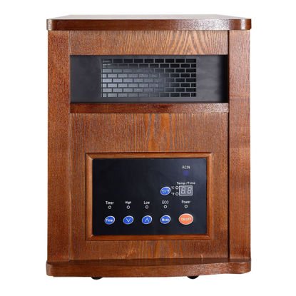Picture of Heater with Remote Control 1500W Infrared Quartz Pro 6 Element