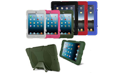 Picture of iPad 2 3 4 WaterProof ShockProof DirtProof Rugged Hybrid CASE