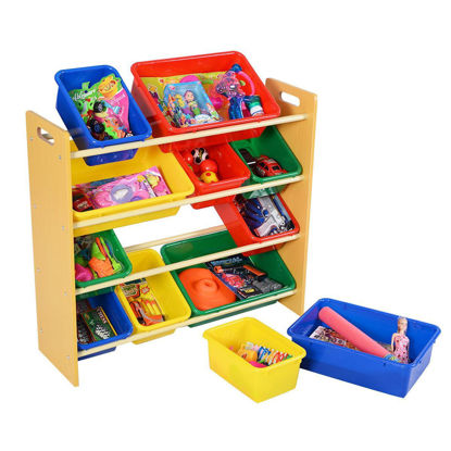 Picture of Kids Playroom Storage Box Bin Organizer