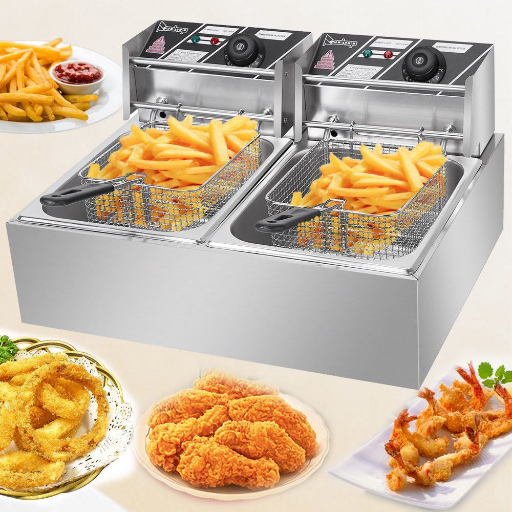 Picture of Kitchen 5000W Countertop Electric Deep Fryer