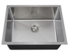 "Picture of Kitchen Stainless Steel Sink Single Bowl 3/4"" Radius"