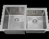 "Picture of Kitchen Undermount Single Bowl Sink Offset 3/4"" Radius"