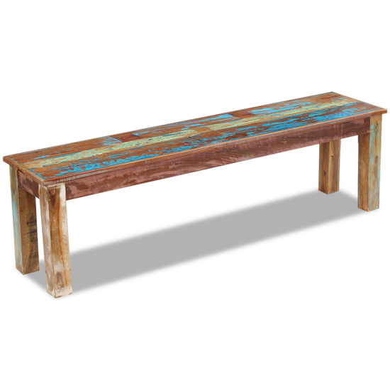 """Picture of Living Room Bench Solid 63"""" - Reclaimed Wood"""