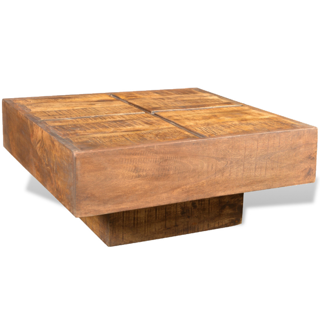 Picture of Living Room Coffee Table Mango Wood  - Brown