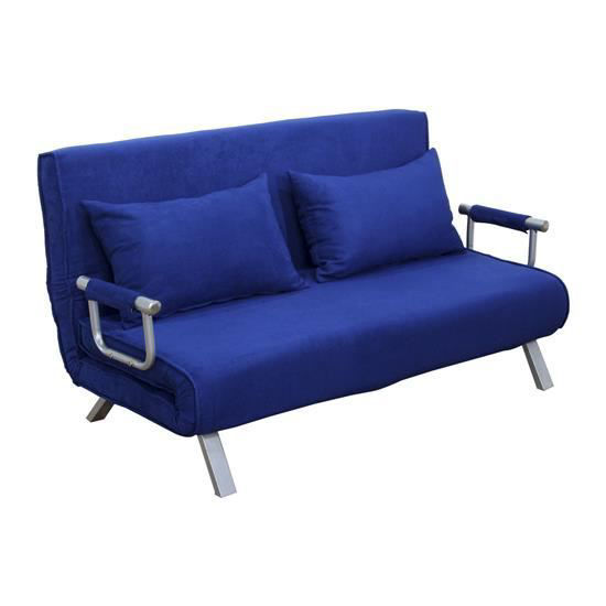 Picture of Living Room Folding Futon Bed - Blue