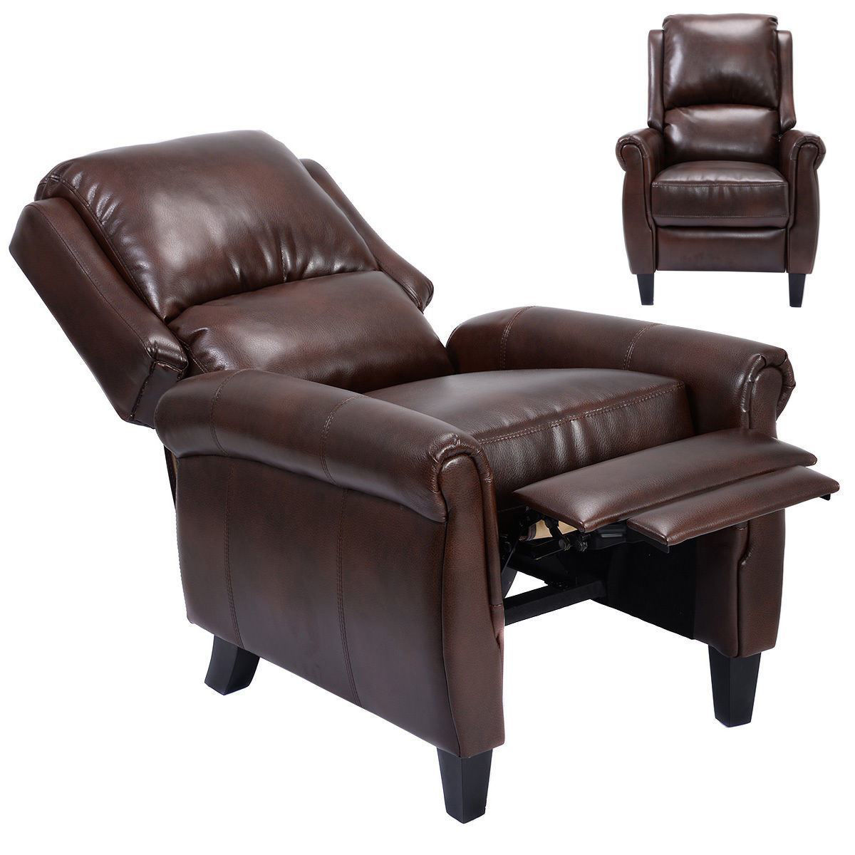Picture of Living Room Recliner Chair with Leg Rests