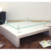 Picture of Living Room Square Glass Coffee Table  - White