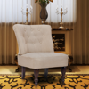 Picture of Living Room Vintage French Fabric Chair - Cream
