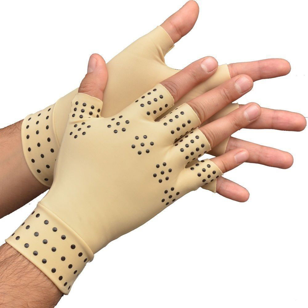 Picture of Magnetic Therapy Gloves Arthritis Pressure Support for Pain Relief and Joints