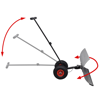 Picture of Manual Snow Shovel with Wheels