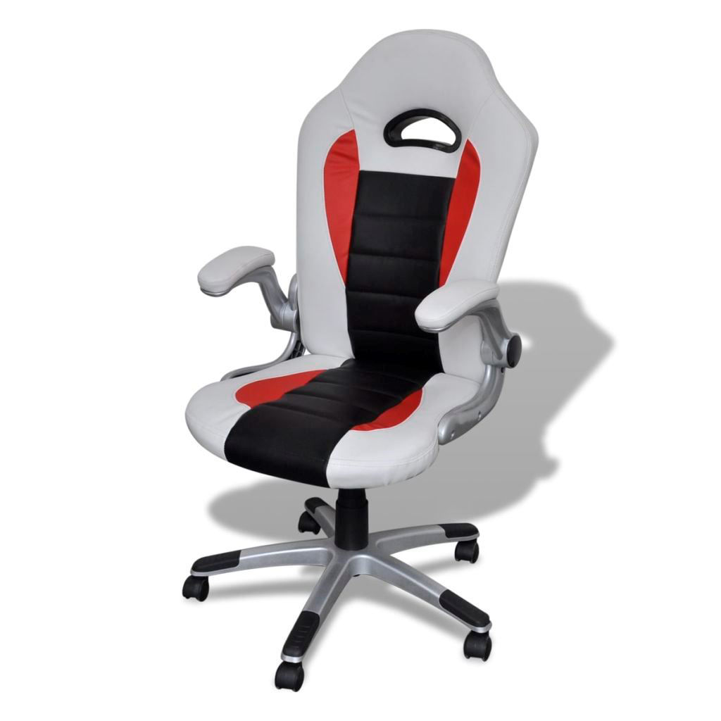 Picture of Modern Design Office Chair - Artificial Leather - White