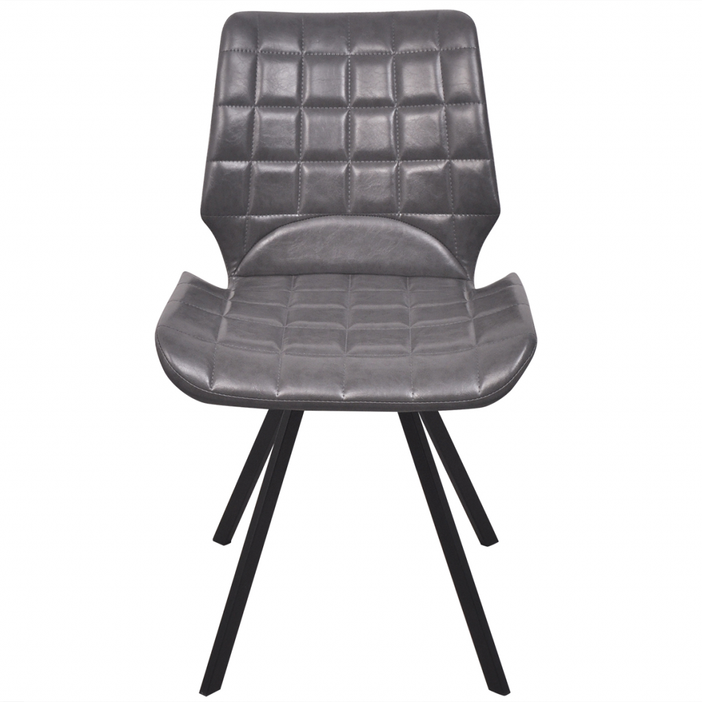 Picture of Modern Dining Chairs - 4 Gray