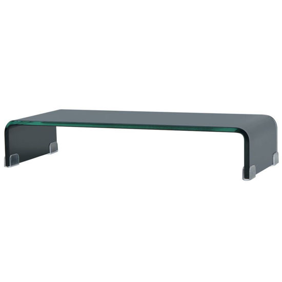 "Picture of Monitor Riser/TV Stand 23"" - Glass Black"
