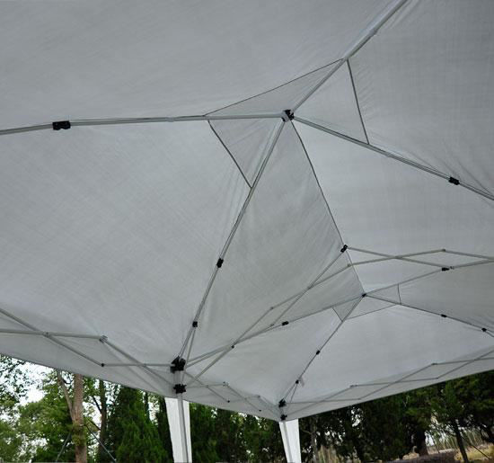 Picture of Outdoor 10' x 20' Easy Pop Up Canopy Tent - White