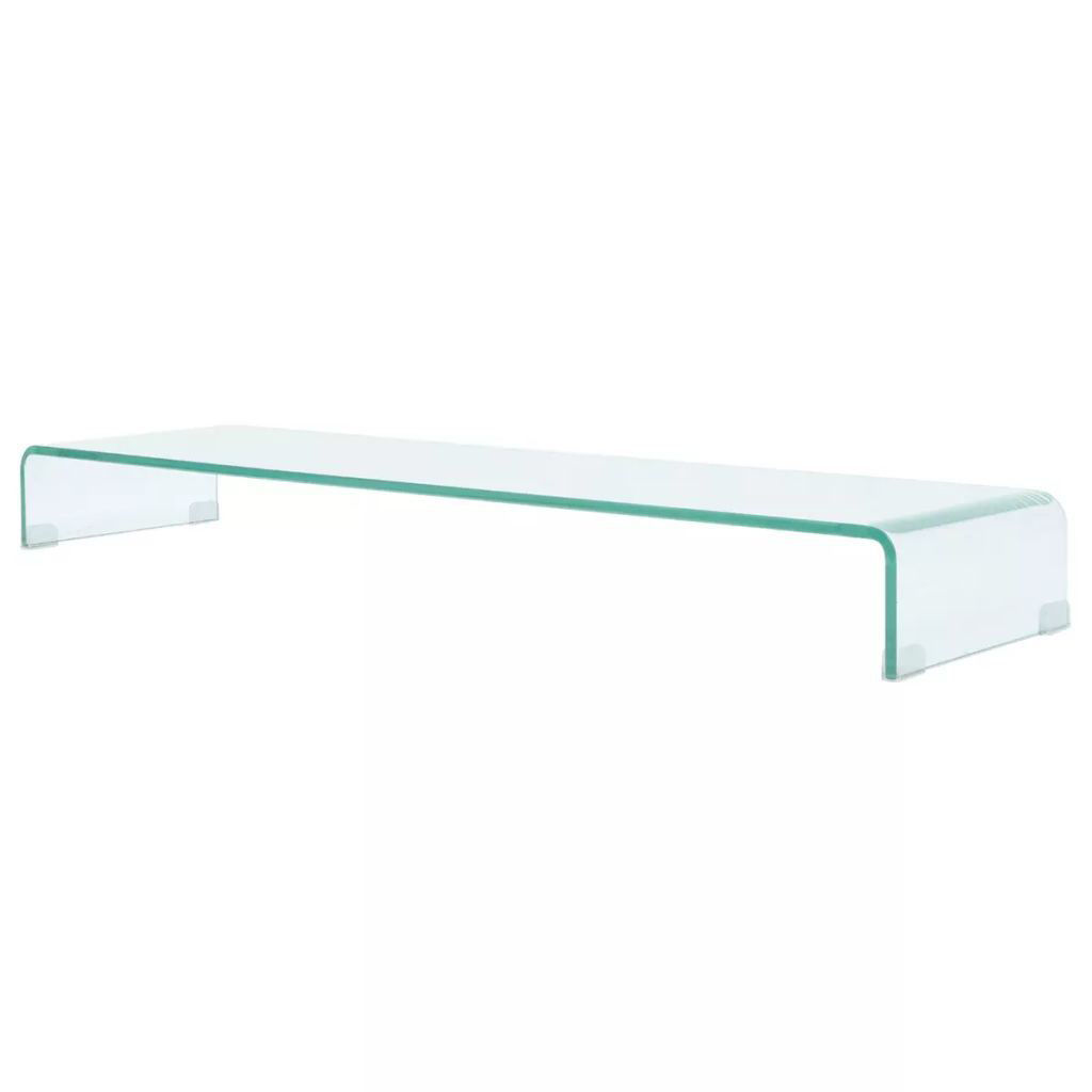 "Picture of Monitor Riser/TV Stand 47"" - Glass Clear"