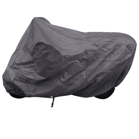 Picture of Motorcycle Cover Gray Polyester