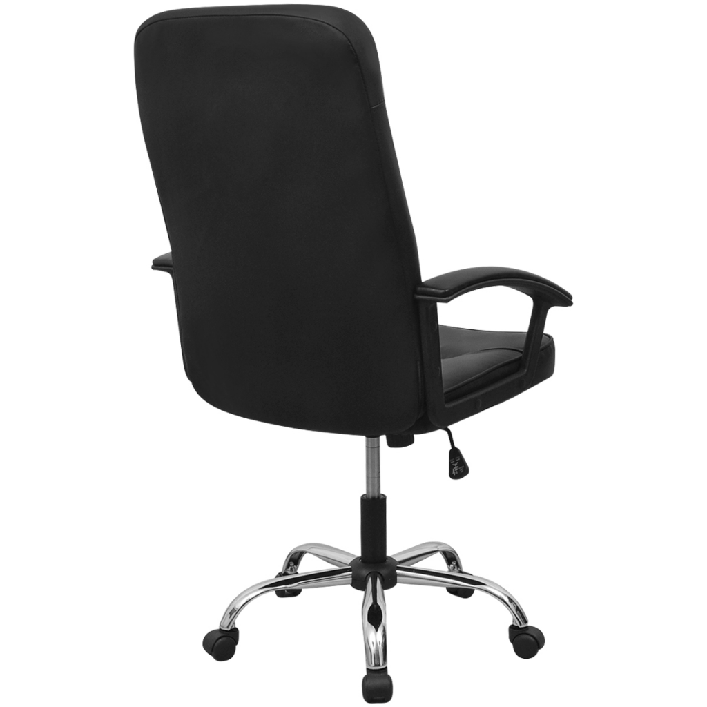 "Picture of Office Chair Artificial Leather 26.4""x27.6"" Black"