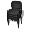 Picture of Office Waiting Room Conference Room Chairs - 4 pcs Black