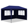 Picture of Outdoor 10' x 13' Canopy Gazebo Party Tent with 4 Walls  - Blue