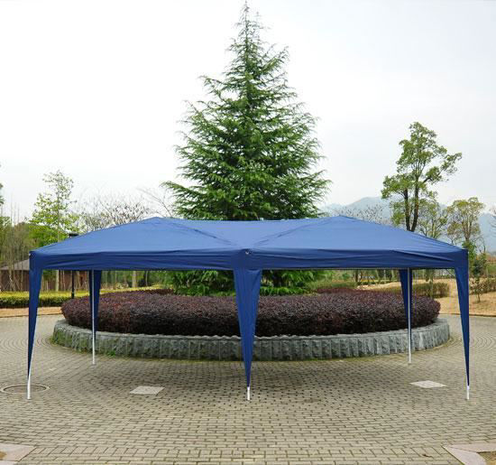Picture of Outdoor 10' x 20' Easy Pop Up Canopy Tent - Blue