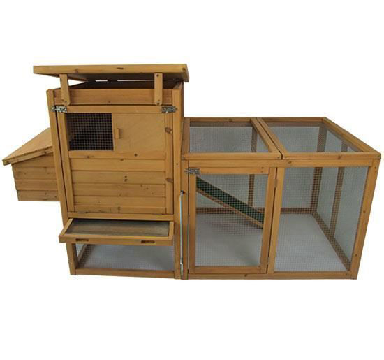 """Picture of Outdoor 75"""" Chicken Coop with Run"""