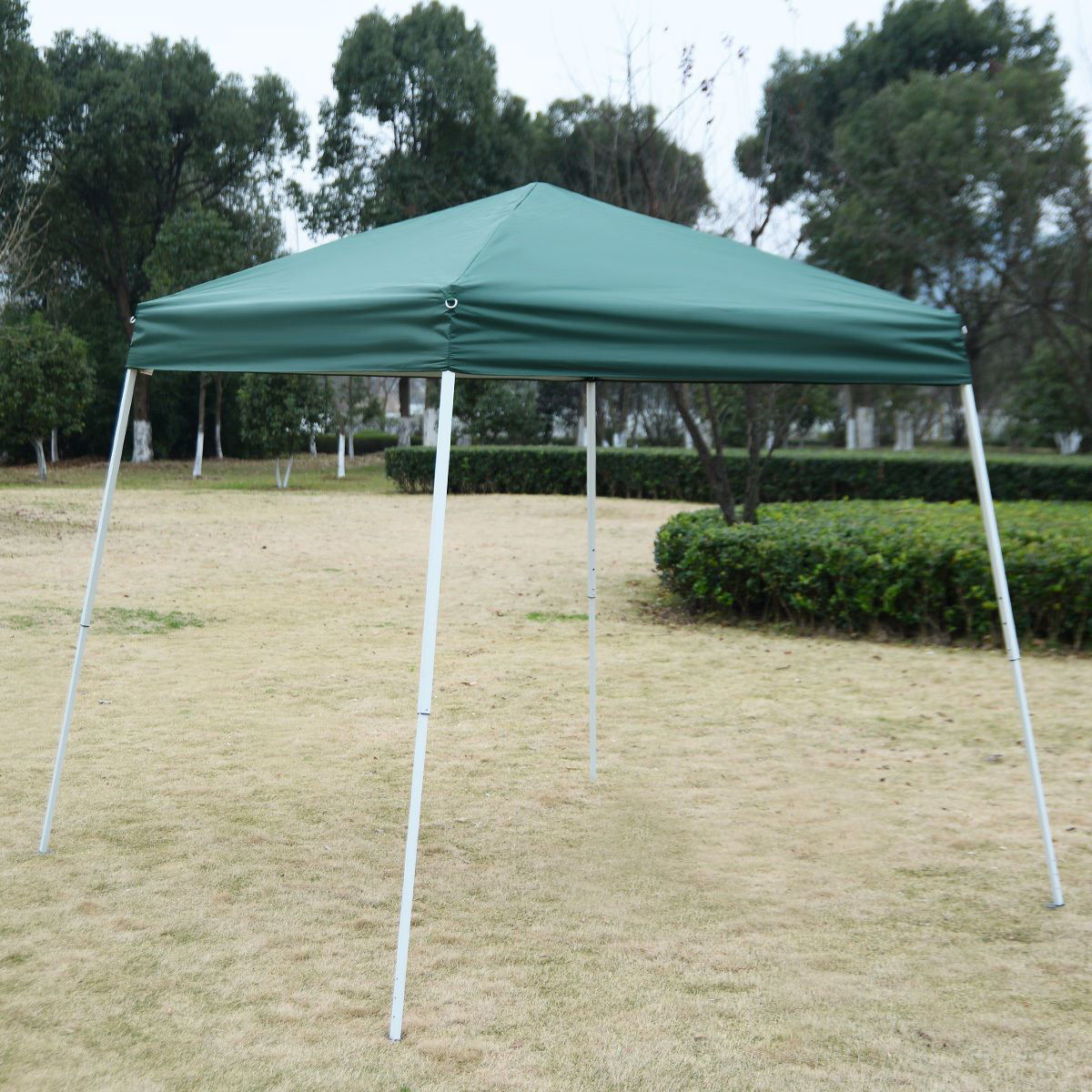Picture of Outdoor 8'x8' EZ Pop Up Tent Gazebo with Carry Bag - Green