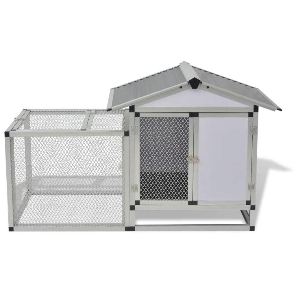 """Picture of Outdoor Aluminum 62"""" Chicken Coop"""