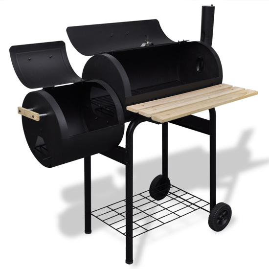 Picture of Outdoor BBQ Charcoal Offset Smoker