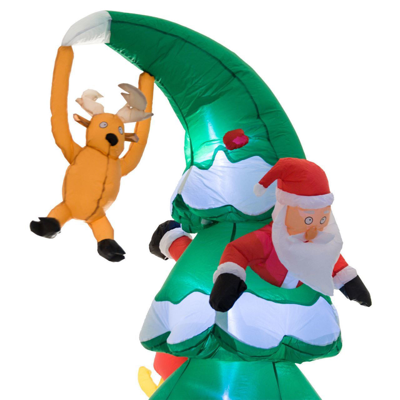Picture of Outdoor Christmas Decoration 7FT Inflatable Santa Claus