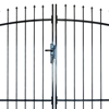 Picture of Outdoor Fence Double Door Gate with Spear Top 10' x 7'