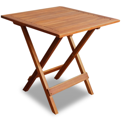 Picture of Outdoor Folding Square Coffee / Side Table - Acacia Wood