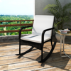 Picture of Outdoor Furniture Garden Rocking Chair Rattan Wicker