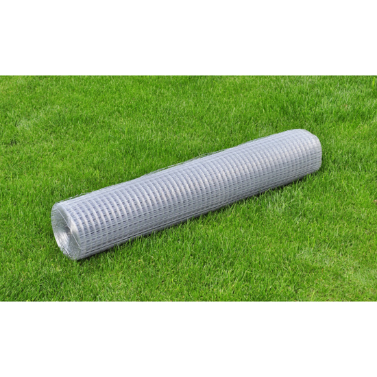 """Picture of Outdoor Garden Square Wire Netting 3' 3"""" x 82' Galvanized Thickness - 0.03"""""""
