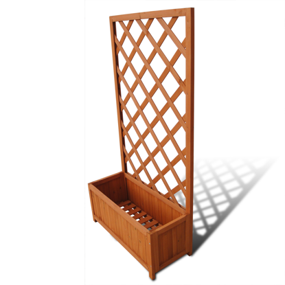 Picture of Outdoor Garden Trellis Planter