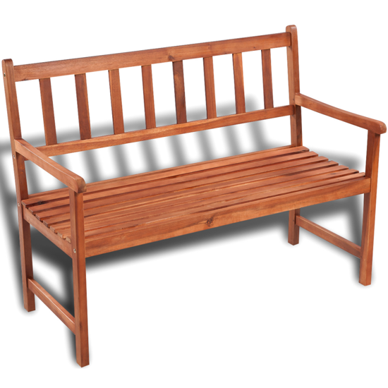 Picture of Outdoor Patio Furniture Classic Garden Wooden Bench