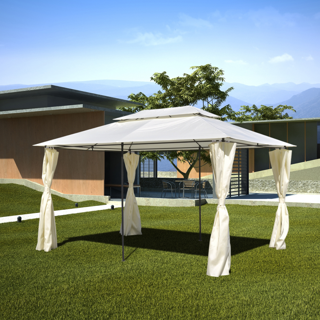 Picture of Outdoor Patio Gazebo Steel 10' x 13'