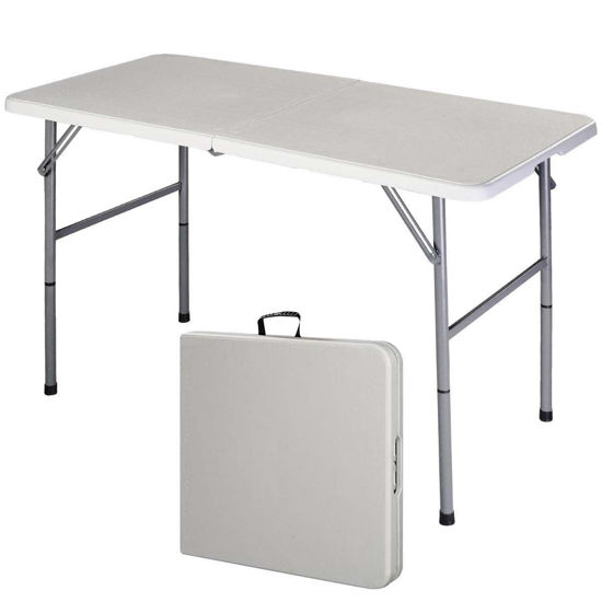 Picture of Outdoor Picnic Folding Portable Dining Table 4'