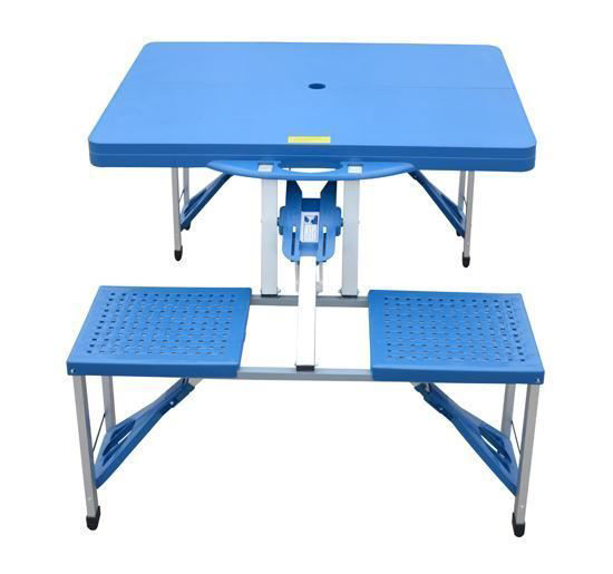 Picture of Outdoor Portable Picnic Table with Seats